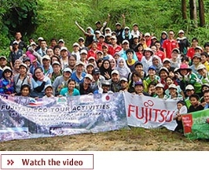 Fujitsu Responsible Business, click here to watch the video on our contribution to local communities