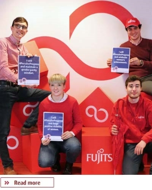 Fujitsu Meet our People, click here to read and get inspired by our employees stories